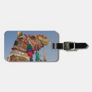 INDIA, Rajasthan, Pushkar: PUSHKAR CAMEL FAIR, Tag For Luggage
