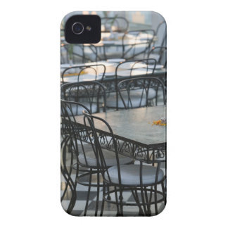 INDIA, Rajasthan, Udaipur: Cafe Tables / Udai iPhone 4 Cover