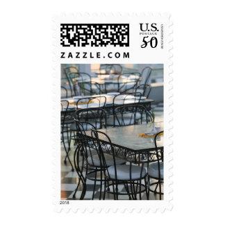 INDIA, Rajasthan, Udaipur: Cafe Tables / Udai Postage