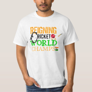 India-Reigning ICC Cricket World Champs Shirt