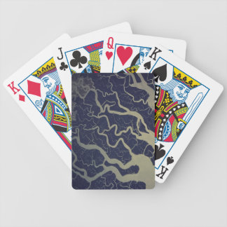 India Sacred River Ganges Bicycle Playing Cards