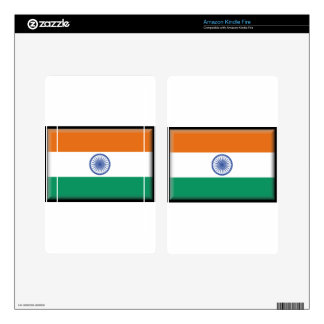 India Kindle Fire Decal
