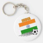 India Soccer Team Key Chains