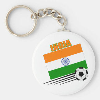 India Soccer Team Keychain
