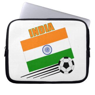 India Soccer Team Computer Sleeve