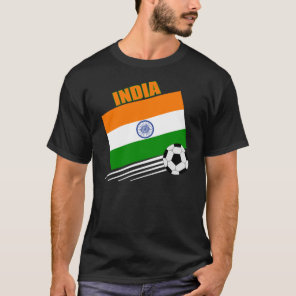 India Soccer Team T-Shirt