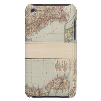 India South, Burma, Malay Peninsula iPod Touch Case-Mate Case