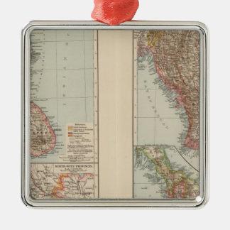 India South, Burma, Malay Peninsula Metal Ornament