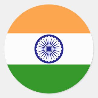 india round sticker