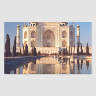 India Taj-mahal angie Rectangular Sticker