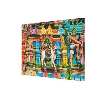 INDIA, Tamil Nadu, Chennai: Kapaleeshwarar Canvas Print