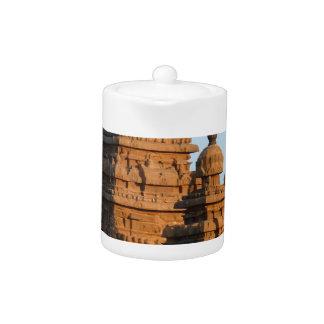 India Temple Teapot