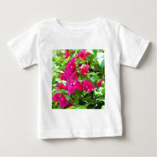 India travel flower bougainvillea floral emblem baby T-Shirt