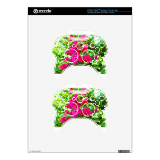 India travel flower bougainvillea floral emblem xbox 360 controller decal