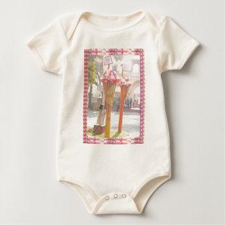 India Travels welcome gates New Delhi 2016 Baby Bodysuit