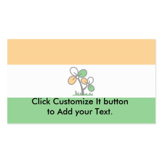 India Trinamool Congress, India Double-Sided Standard Business Cards (Pack Of 100)