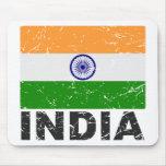 India Vintage Flag Mousepads