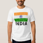 India Vintage Flag T-Shirt