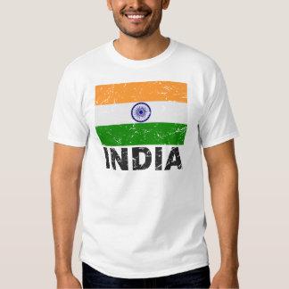 India Vintage Flag Tee Shirt
