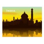 India Vintage Tourism Travel Add Postcard