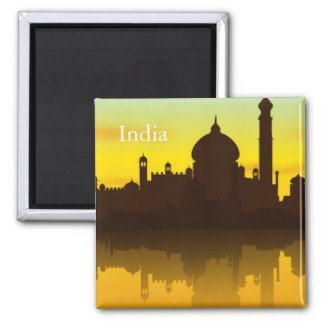 India Vintage Tourism Travel Magnet