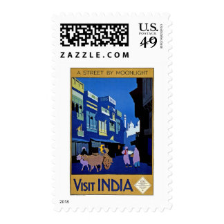 India Vintage Travel Stamps