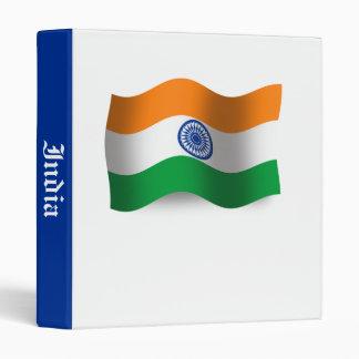 India Waving Flag Binder