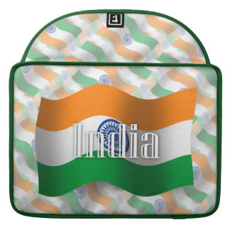 India Waving Flag Sleeves For MacBook Pro