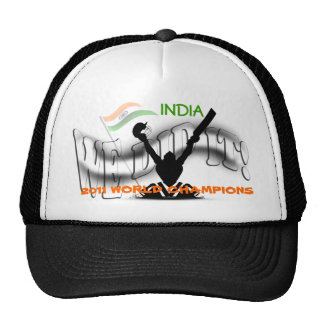 India 'We Did It' ICC Cricket World Champs Mesh Trucker Hat