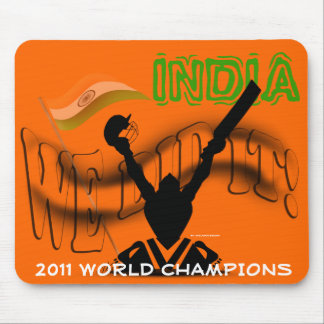 India 'We Did It' ICC Cricket World Cup Champs Mou Mouse Pad