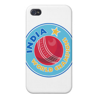 india world champions cricket ball iPhone 4 covers