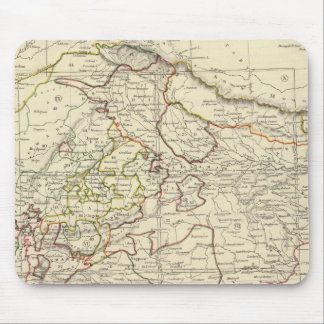 India XII Index map Mouse Pad