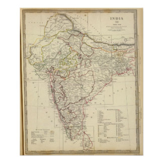 India XII Index map Poster