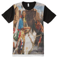 Indian 1A All-Over Print T-shirt