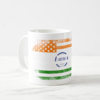 Indian American Flag   India and USA Design Coffee Mug