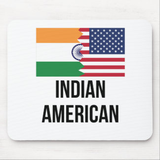 Indian American Flag Mouse Pad