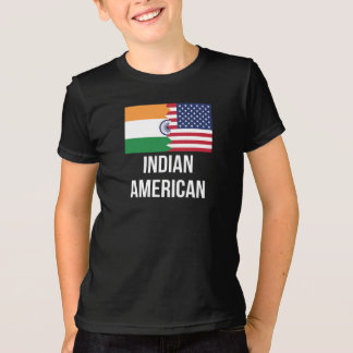Indian American Flag T-Shirt