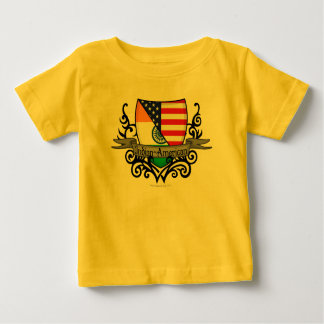 Indian-American Shield Flag Baby T-Shirt