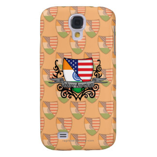 Indian-American Shield Flag Galaxy S4 Cases