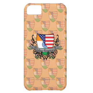 Indian-American Shield Flag Case For iPhone 5C