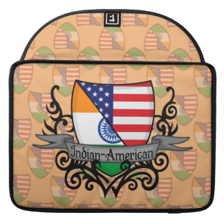 Indian-American Shield Flag Sleeves For MacBooks