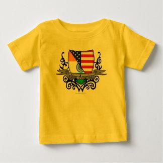 Indian-American Shield Flag T Shirt
