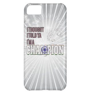 Indian and a Champion Cover For iPhone 5C