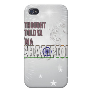 Indian and a Champion iPhone 4/4S Cover