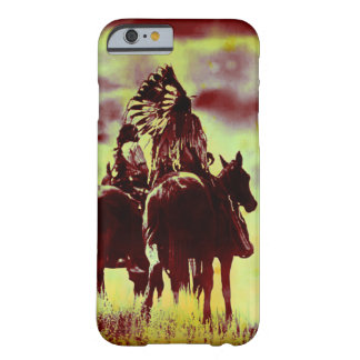 Indian and Chief at Rest Barely There iPhone 6 Case