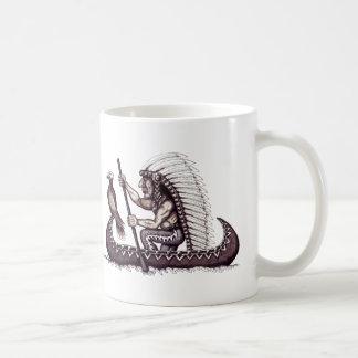 Indian and eagle graphic art cool coffe mug design