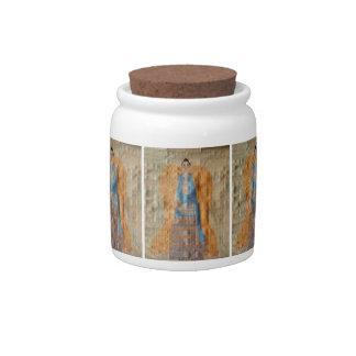 Indian Angel Candy Jar