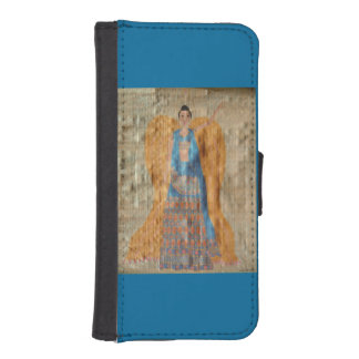 Indian Angel Wallet Phone Case For iPhone SE/5/5s