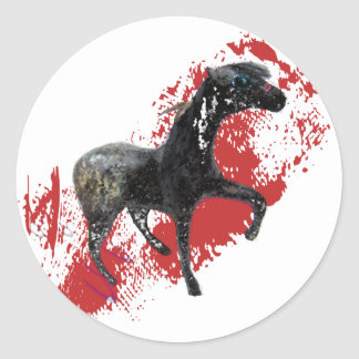 Indian Appaloosa Gifts and apparel Classic Round Sticker
