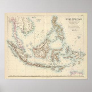 Indian Archipelago Poster